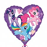 18 Inch My Little Pony Heart Foil Balloon