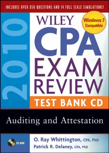 Wiley CPA Exam Review 2010 Test Bank - Auditing and Attestation