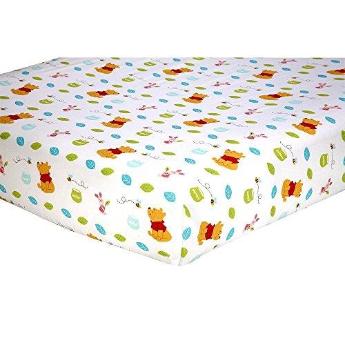 Disney Baby Winnie the Pooh Crib Sheet - 1