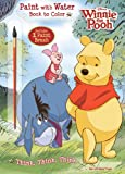 Bendon Publishing Disney Winnie-the-Pooh Think, Think, Think (Paint with Water Coloring Book)
