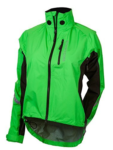 Showers Pass Women's Double Century RTX Jacket, Lime, Large by Showers Pass (Showers Pass Double Century compare prices)