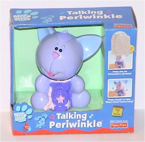 Buy Fisher Price Blue's Clues Talking Periwinkle