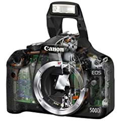Canon EOS 500D SLR-Digitalkamera (15 Megapixel, LiveView, HD-Video) Gehäuse