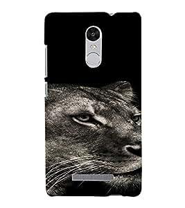 PrintVisa Animal Tiger Design 3D Hard Polycarbonate Designer Back Case Cover for Xiaomi Redmi Note 3