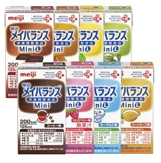 Meiji period Meiji dairies Mini assorted BOX (125ml×24 pieces)