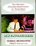 Verbal Reasoning (Mw Educational) (Vol 2)