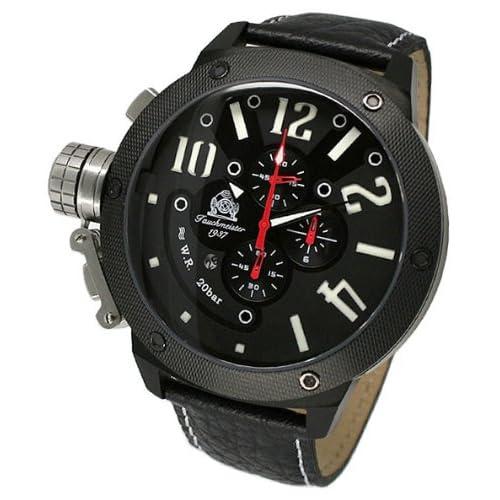 [トーチマイスター1937]Tauchmeister1937 腕時計 ドイツ製二戦ドイツ海軍U-BOOT潜艦軍用復刻重厚クロノグラフ T0223 (並行輸入品)