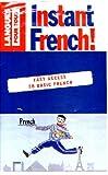 echange, troc Collectif - Le français tout de suite - instant french, livre + cassette