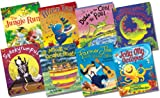 Tony Mitton Tony Mitton and Guy Parker-Rees Collection - 8 Books RRP £47.92 (The Jungle Run; Alien Tea on Planet Zum-Zee; All Afloat on Noah's Boat; Bumpus Jumpus Dinosaurumpus!; Down By the Cool of the Pool; Farmer Joe and the Music Show; Spookyrumpus;