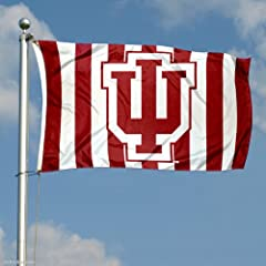 Buy Indiana Hoosiers Candy Stripe Pants Flag by College Flags and Banners Co.
