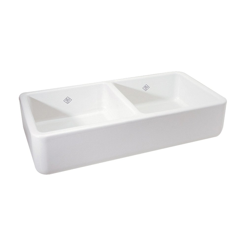 33 Inch Farmhouse Sink White : 36 5 8 inch by 18 1 2 inch by 10 1 2 inch o d