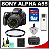 Sony Alpha A55 SLTA55VL 16.2 MP Translucent