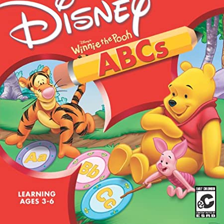 Disney's Winnie the Pooh: ABC's (Jewel Case)