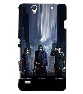 PRINTSHOPPII JOKER FAN Back Case Cover for Sony Xperia C4 Dual E5333 E5343 E5363::Sony Xperia C4 E5303 E5306 E5353