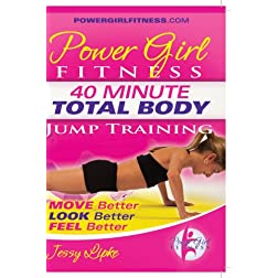 "Power Girl Fitness - 40 Minute Total Body ""Jump Training"" Workout for Girls DVD"