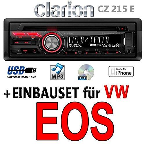 VW EOS-Autoradio Clarion cz215e-USB | MP3-Kit de montage