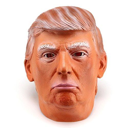 ドナルド・トランプ大統領 そっくりコスプレ 被り物 マスク 忘年会 出し物 パーティ