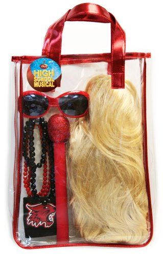 High School Musical Back Pack With Wig And Accessories, Blonde
