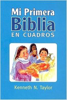 Mi Primera Biblia En Cuadros Azul: My First Bible in Pictures Blue