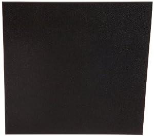 "ABS Sheet - .236"" Thick, Black, 12"" x 12"" Nominal"