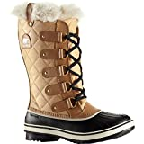 Sorel Women's Tofino Cate Boots, Curry/Black, 8 B(M) US
