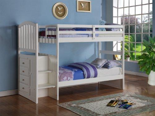 Loft Bed For Kids 4025 front
