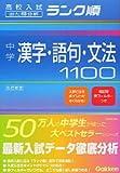 中学漢字・語句・文法 1100 (高校入試ランク順)