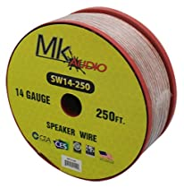 Mk Audio SW14-250 14 Gauge 250FT Spool Speaker Wire