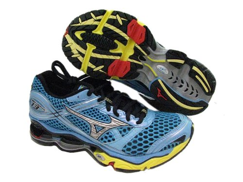 Mizuno Womens Wave Creation 13 AquariuSilvLemn Running Shoes US 11 NIB FBA