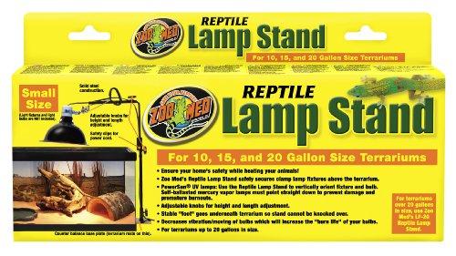 Zoo-Med-LF-21-Repti-Lamp-Stand-Lmpenstnder-fr-Hngelampenschirme-verstellbar-bis-65-cm-Hhe