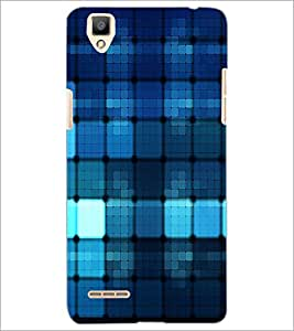 PrintDhaba Pattern D-1093 Back Case Cover for OPPO F1 (Multi-Coloured)