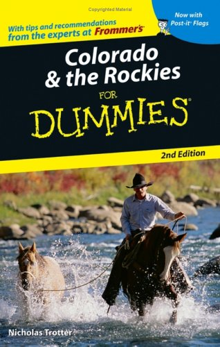 Colorado & The Rockies For Dummies (Dummies Travel) front-380819