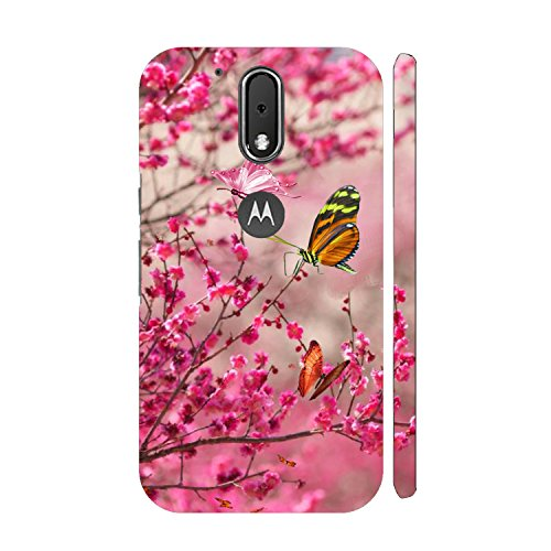 size 40 f2135 749a4 Clapcart Butterflies Design Printed Mobile Back Cover for Motorola Moto G  Plus 4th Gen / Moto G4 Plus / Moto G4 -Multicolor