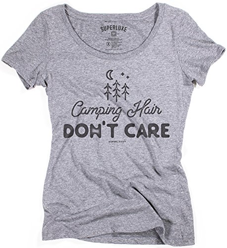 Superluxe-Womens-Camping-Hair-Dont-Care-Tri-Blend-Scoop-Neck-T-Shirt