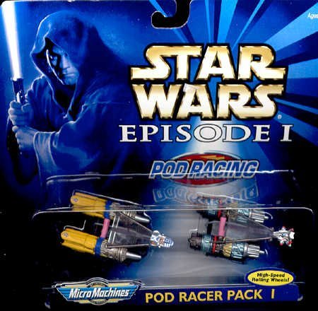 star wars episodei-micro machine pod racing-pod racer pack 1 - 1