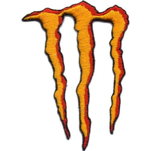 Orange Monster Energy Logo