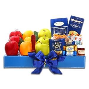 Kosher Paradise Fruit and Chocolate Gift Basket | Office Gift Idea
