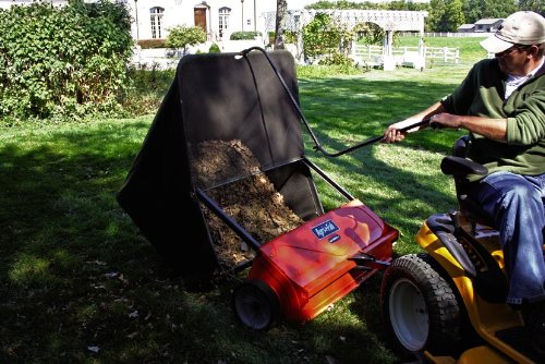 John Deere 44 Sweeper : Agri fab inch smart sweep tow lawn sweeper