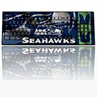 NFL Seattle Seahawks Team Promark Wireless Keyboard by Team ProMark