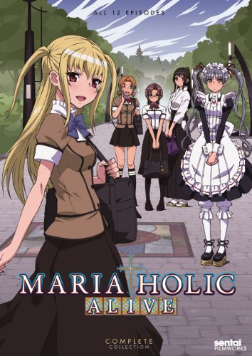 Cover art for  Maria Holic Alive Complete Collection