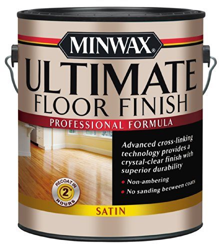 Minwax 13103 1-Gallon Satin Ultimate Floor Finish
