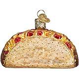 "4"" Old World Christmas ""Taco"" Glass Ornament #32084"