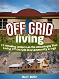 Off Grid Living: 15 Amazing Lessons on the Advantages That Living Off the Grid in a Community Brings (living off grid, off grid living, off the grid living)