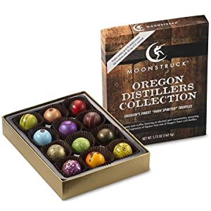 Moonstruck Chocolate 12-pc Oregon Distillers Collection
