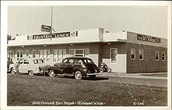 Greyhound bus depot richland washington original vintage for Home depot richland wa