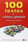100 textes de culture g�n�rale : Hist...