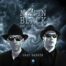Men in Black: The Secret Terror Among Us (       UNABRIDGED) by Gray Barker Narrated by Michael Hacker