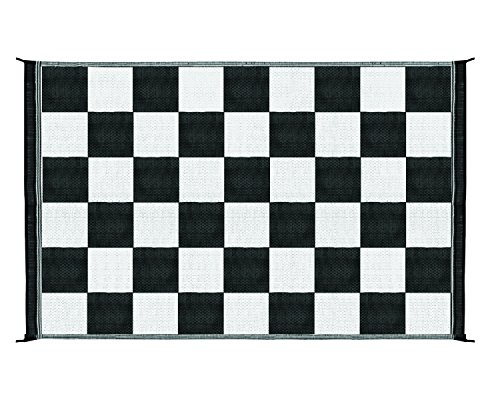 Great Features Of Camco 42884 Reversible Outdoor Mat (6' x 9', Checkered)
