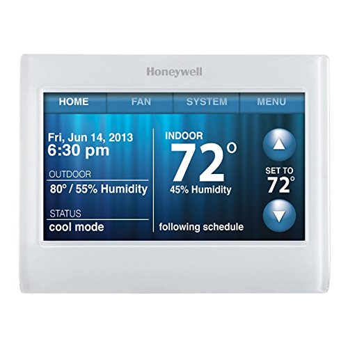 HONEYWELL WIFI 9000 COLOR TOUCHSCREEN THERMOSTAT (Honeywell Total Connect Comfort compare prices)
