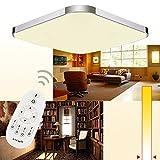 Hengda-36W-Modern-LED-Deckenleuchte-Deckenlampe-Wohnzimmer-bad-Kche-Panel-Leuchte-Dimmbar-2700-6500K